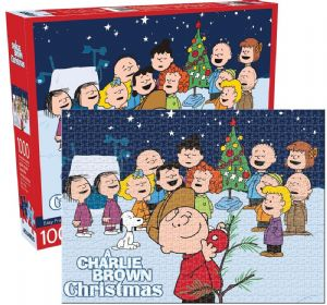 A Charlie Brown Christmas 1000 piece jigsaw puzzle 690mm x 510mm  (nm )